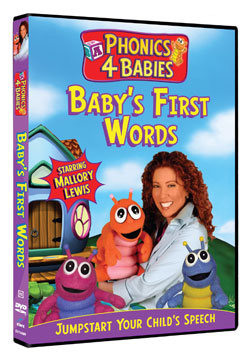 Phonics 4 Babies Baby S First Words Dvd Giveaway